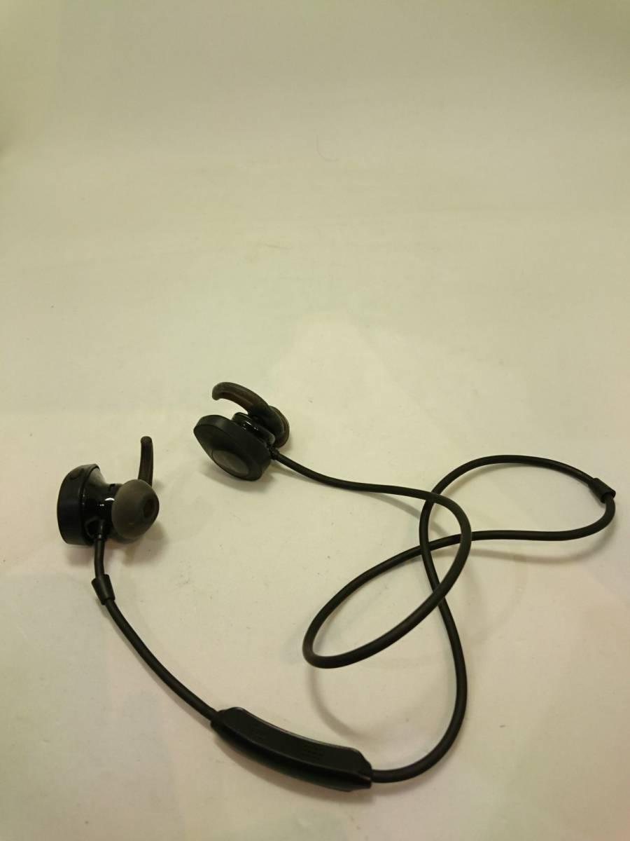 【正常動作品 訳あり 最落なし】 BOSE SoundSport wireless headphones ワイヤレスイヤホン ブラック_画像2