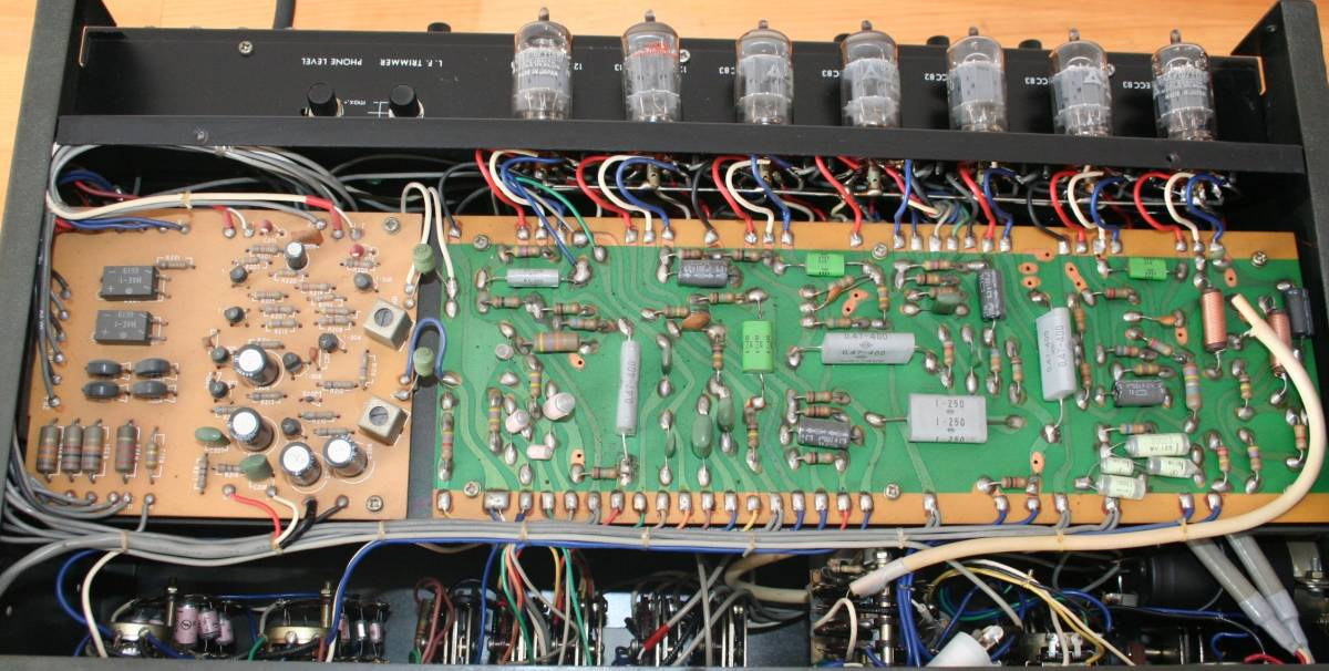 LUXMAN CL35Ⅱ 管球コントロールアンプ、難有り動作品、使用説明書付き_画像7