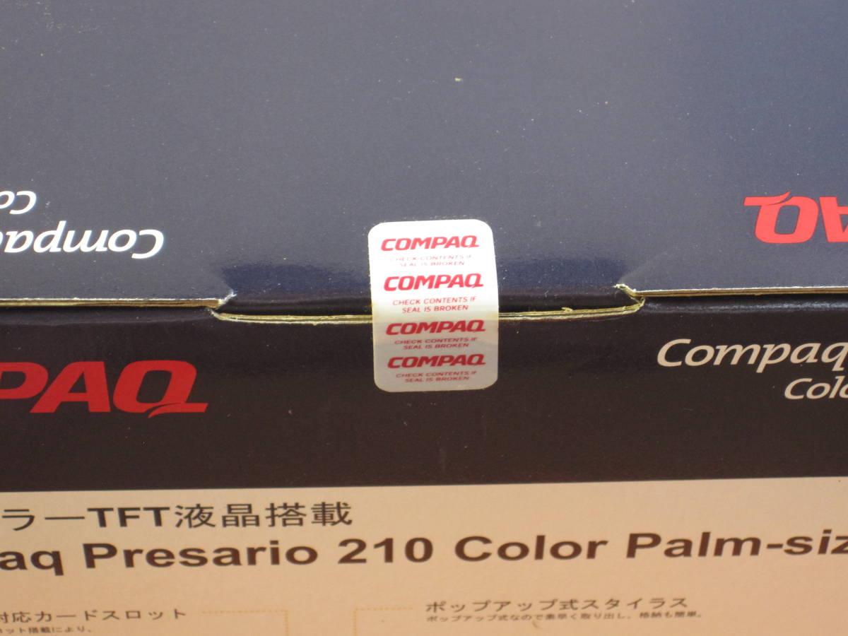 【美品】COMPAQ Presario 210 Color Palm-size PC SCPSP213 箱説有り レトロPDA_画像2
