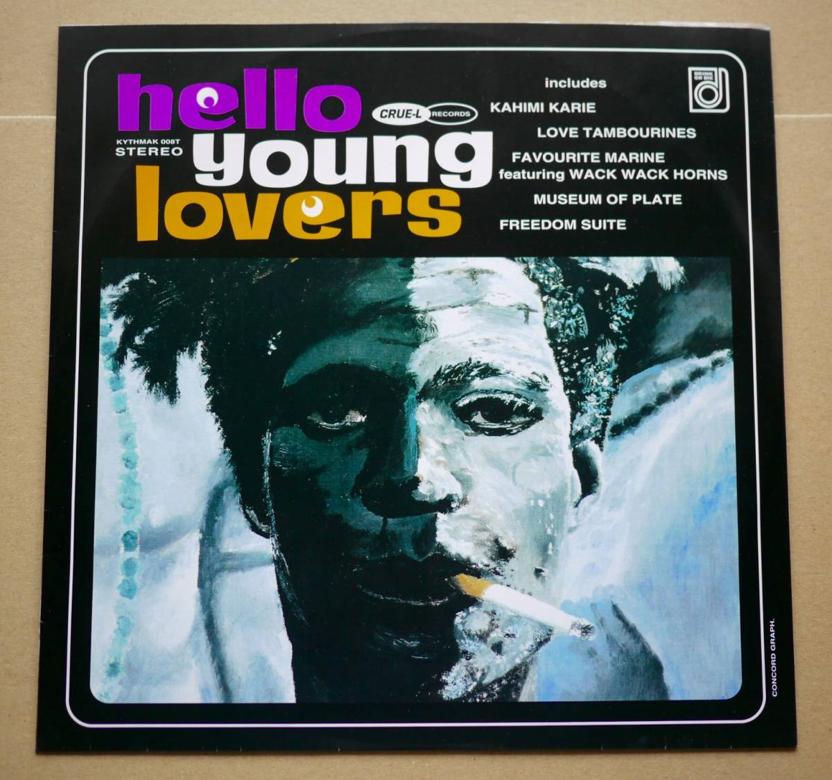 LP★V.A./Hello Young Lovers / Kahimi Karie / Love Tambourines バスキア Basquiat カヒミ・カリィ/ラブ・タンバリンズ 1993年