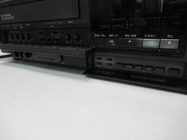 KN133/ビデオデッキ/S-VHS/ビクター/Victor/HR-S7700/ジャンク扱い/中古品/_画像4
