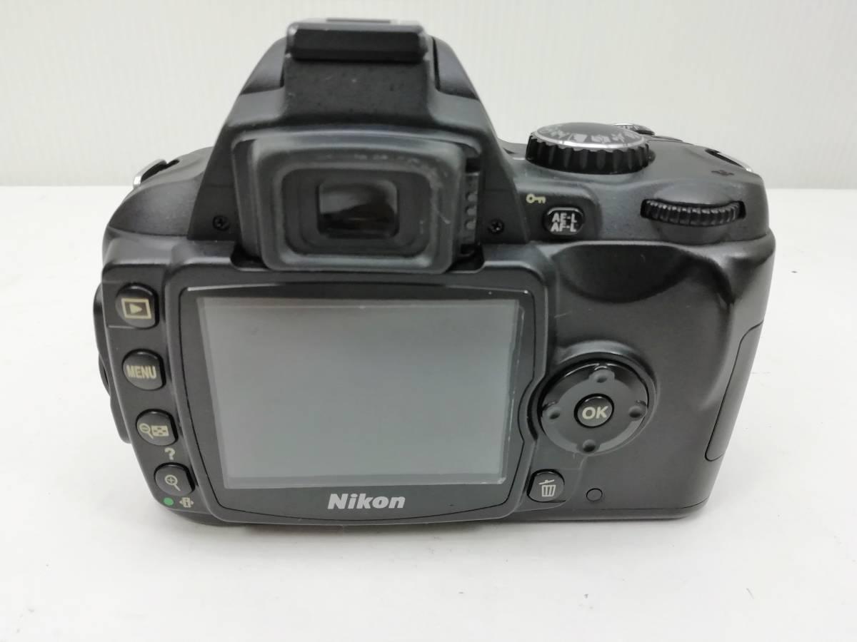 ニコン デジタル一眼レフカメラ D40 レンズキット ブラック Nikon_画像3