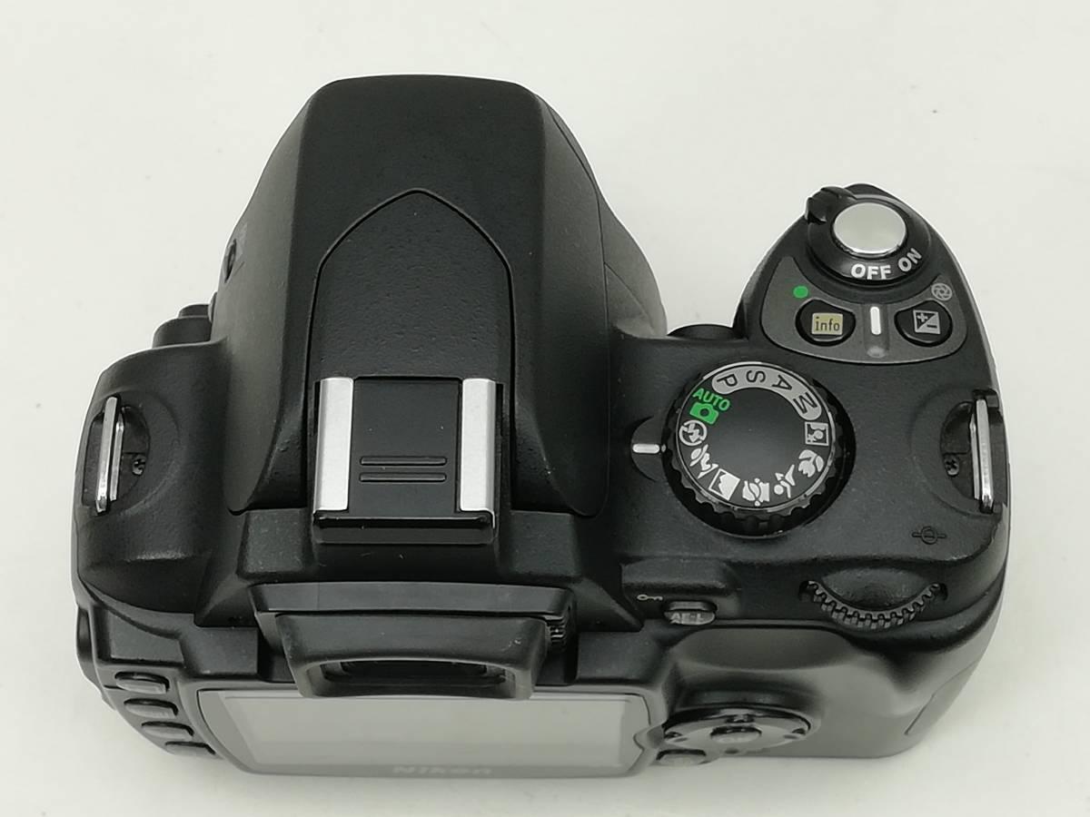 ニコン デジタル一眼レフカメラ D40 レンズキット ブラック Nikon_画像4