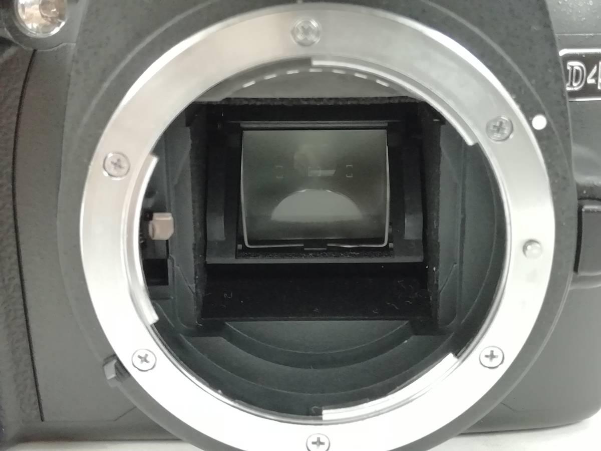 ニコン デジタル一眼レフカメラ D40 レンズキット ブラック Nikon_画像5