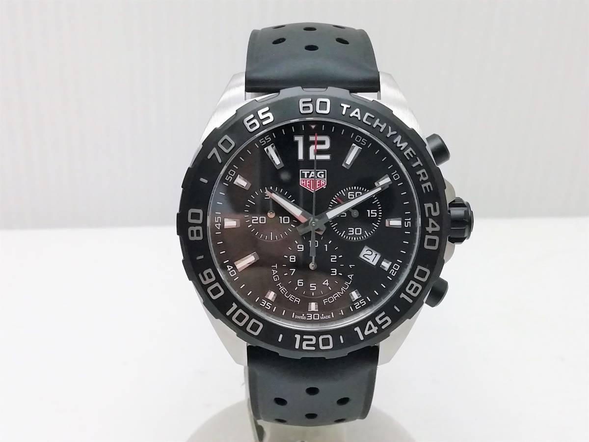 美品!2019.4購入分!タグ・ホイヤー(TAG Heuer)フォーミュラー1 CAZ1010 メンズ 腕時計 クォーツ