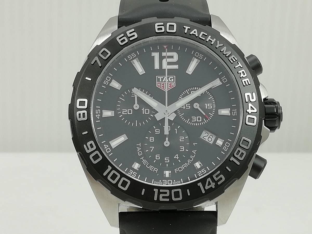 美品!2019.4購入分!タグ・ホイヤー(TAG Heuer)フォーミュラー1 CAZ1010 メンズ 腕時計 クォーツ_画像2