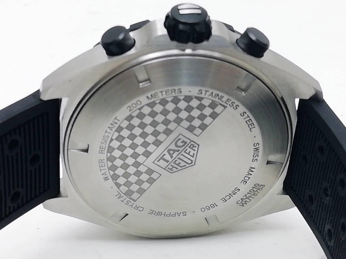 美品!2019.4購入分!タグ・ホイヤー(TAG Heuer)フォーミュラー1 CAZ1010 メンズ 腕時計 クォーツ_画像5