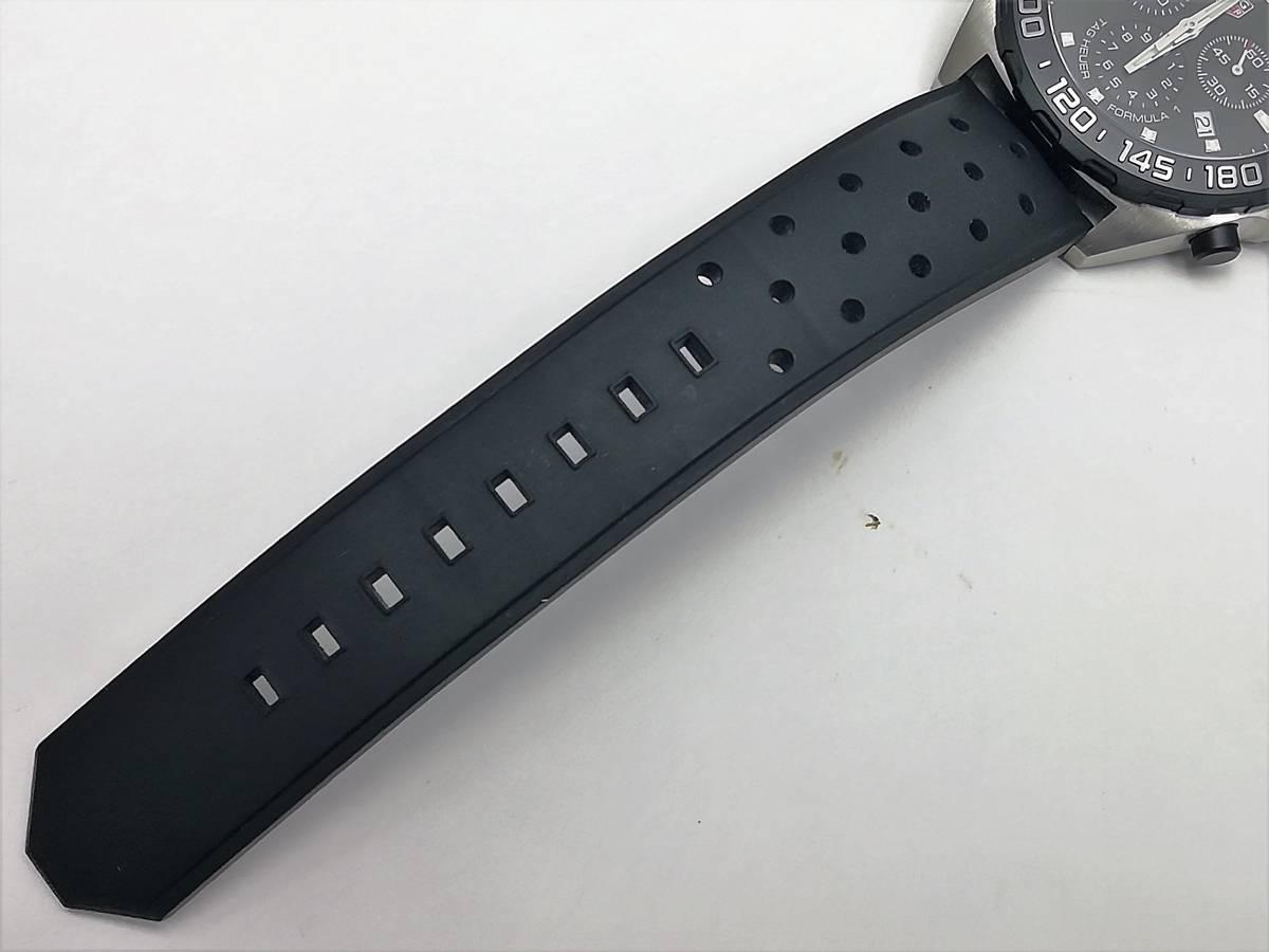 美品!2019.4購入分!タグ・ホイヤー(TAG Heuer)フォーミュラー1 CAZ1010 メンズ 腕時計 クォーツ_画像7