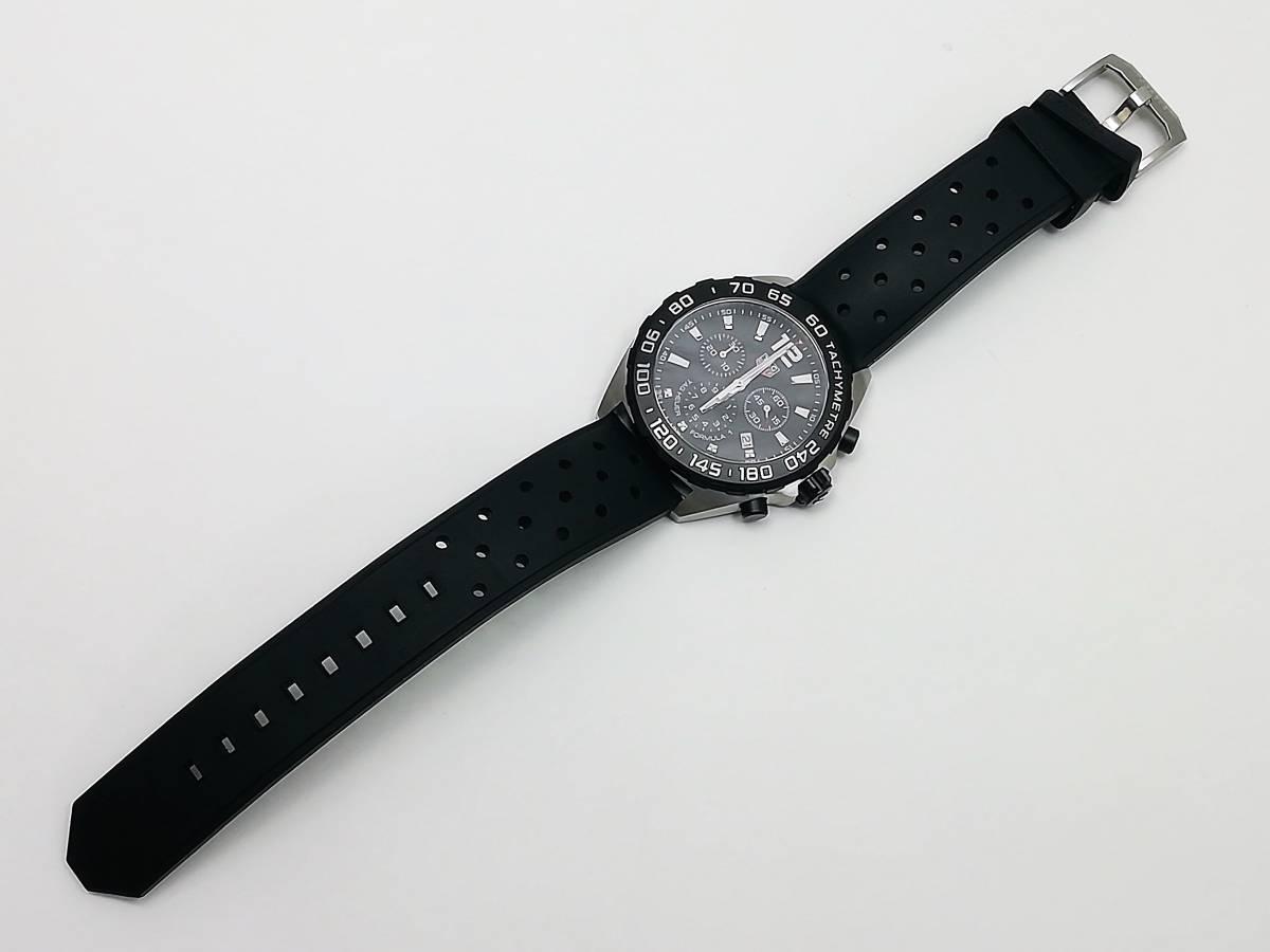 美品!2019.4購入分!タグ・ホイヤー(TAG Heuer)フォーミュラー1 CAZ1010 メンズ 腕時計 クォーツ_画像8