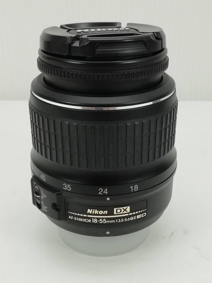 ニコン デジタル一眼レフカメラ D40 レンズキット ブラック Nikon_画像8