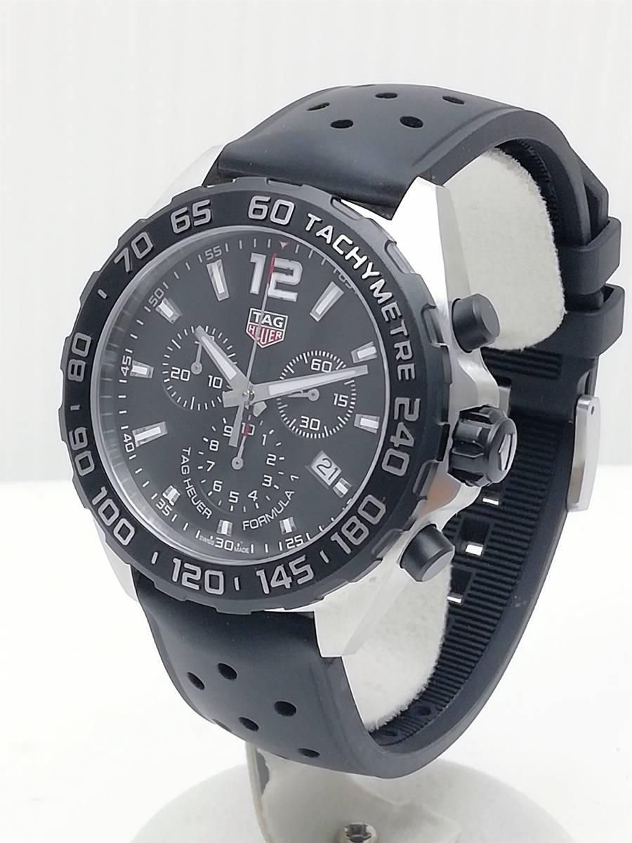 美品!2019.4購入分!タグ・ホイヤー(TAG Heuer)フォーミュラー1 CAZ1010 メンズ 腕時計 クォーツ_画像4