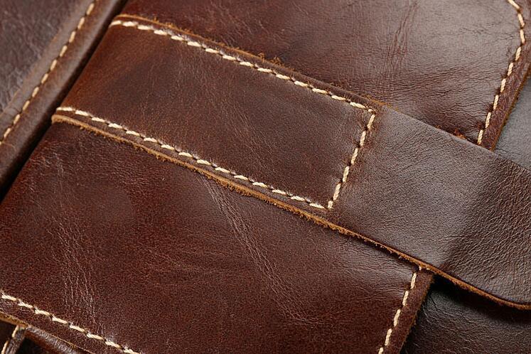 メンズ 本革 レザー ショルダーバッグ 斜め掛けバッグ iPad対応 鞄 機能的収納豊富 メッセンジャーバッグ 多機能 斜めがけ ブラウン_画像9