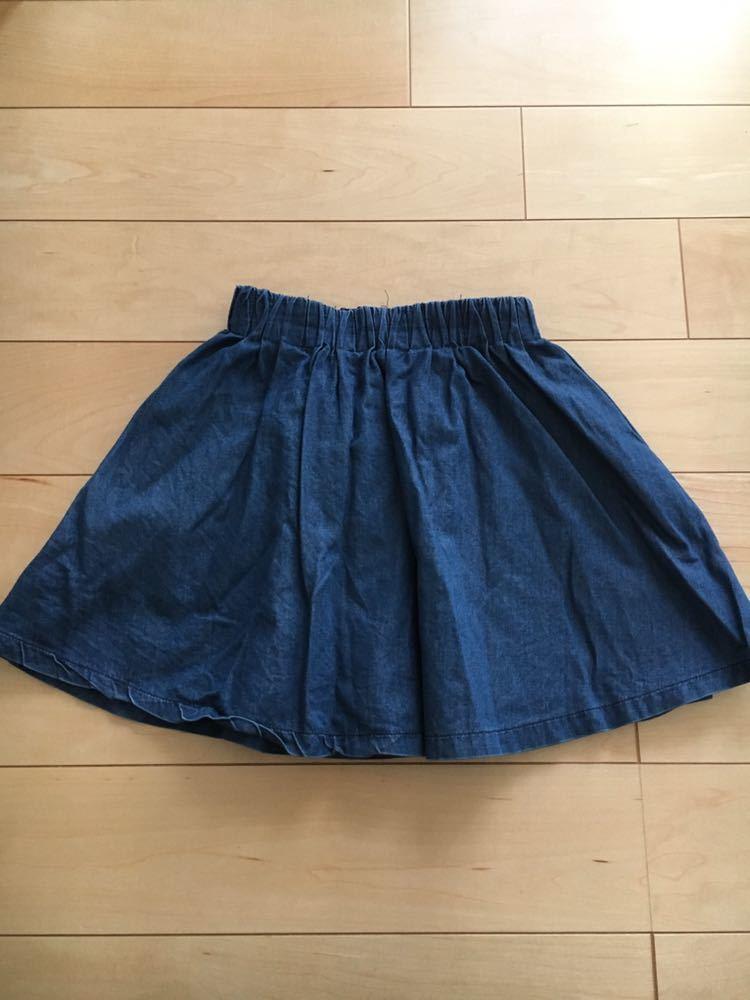 GLOBAL WORK スカート L 110 120 デニム