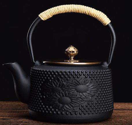 煎茶道具 骨董金属工芸品 鉄瓶茶釜_画像7