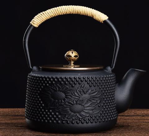 煎茶道具 骨董金属工芸品 鉄瓶茶釜