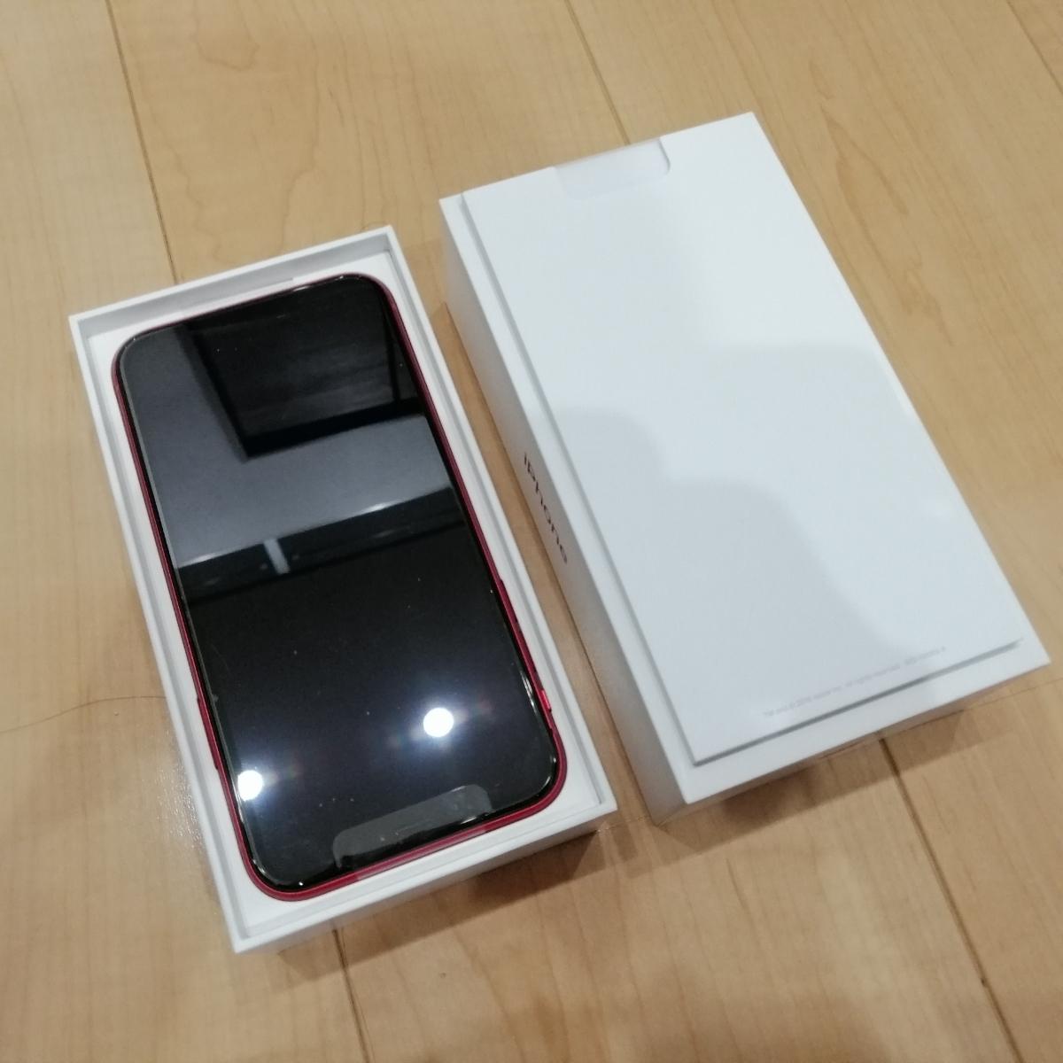 一括購入 残債なし 新品未使用 docomo iPhone XR 64GB product RED simフリー解除可能_画像2