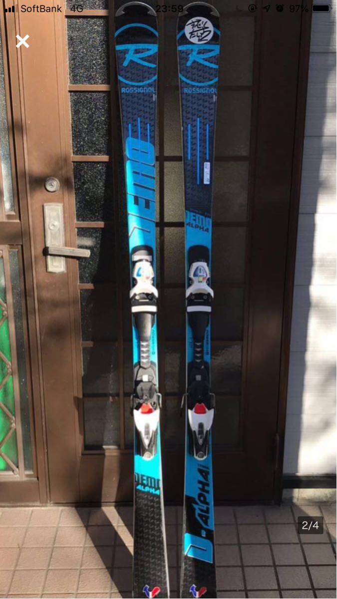 ♪中古 2018 ROSSIGNOL DEMO ALPHA 172㎝_画像1