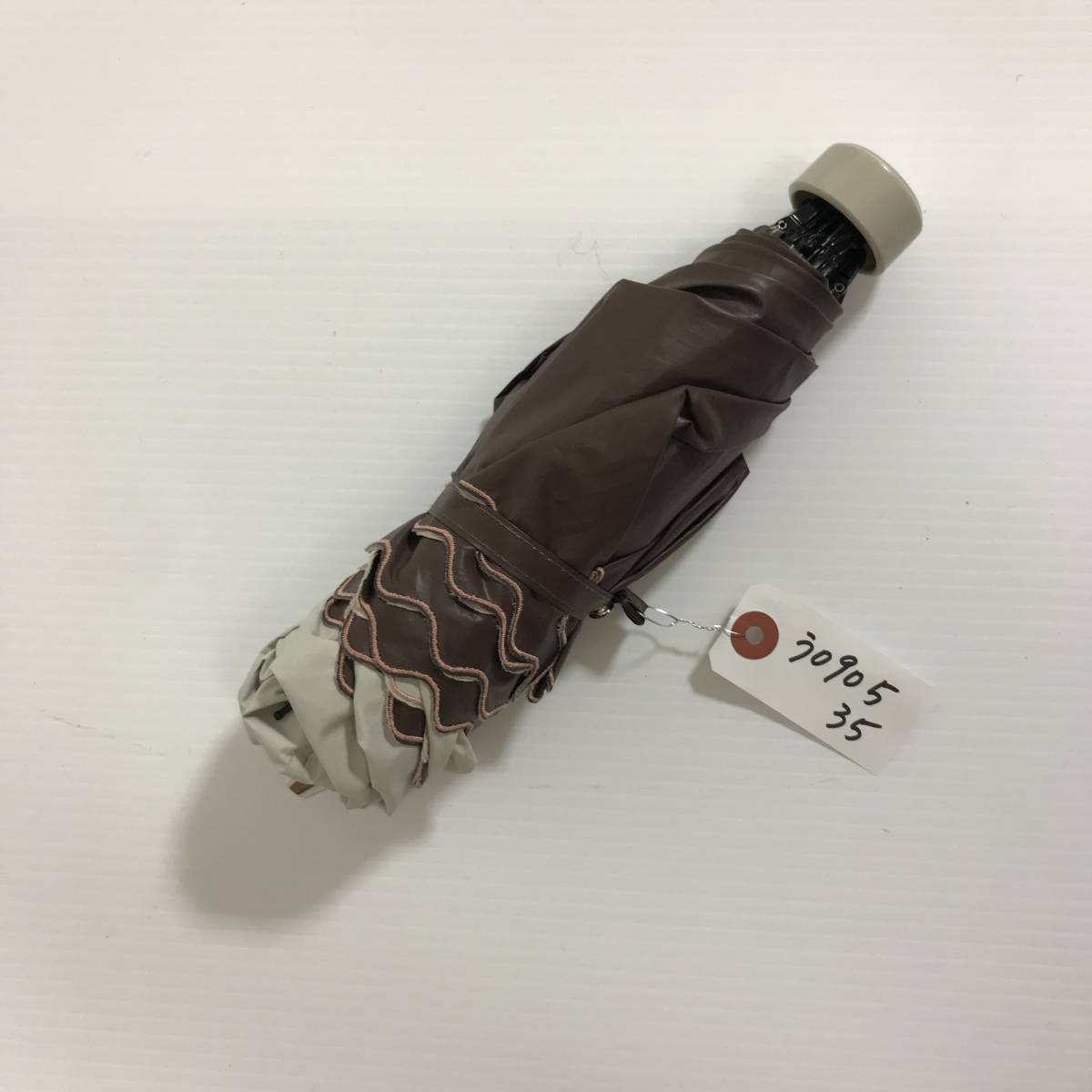 う090535 中古 Pinky&Dianne ピンキー&ダイアン AURORA オーロラ 晴雨兼用 雨傘 日傘 折りたたみ傘 女性用_画像3