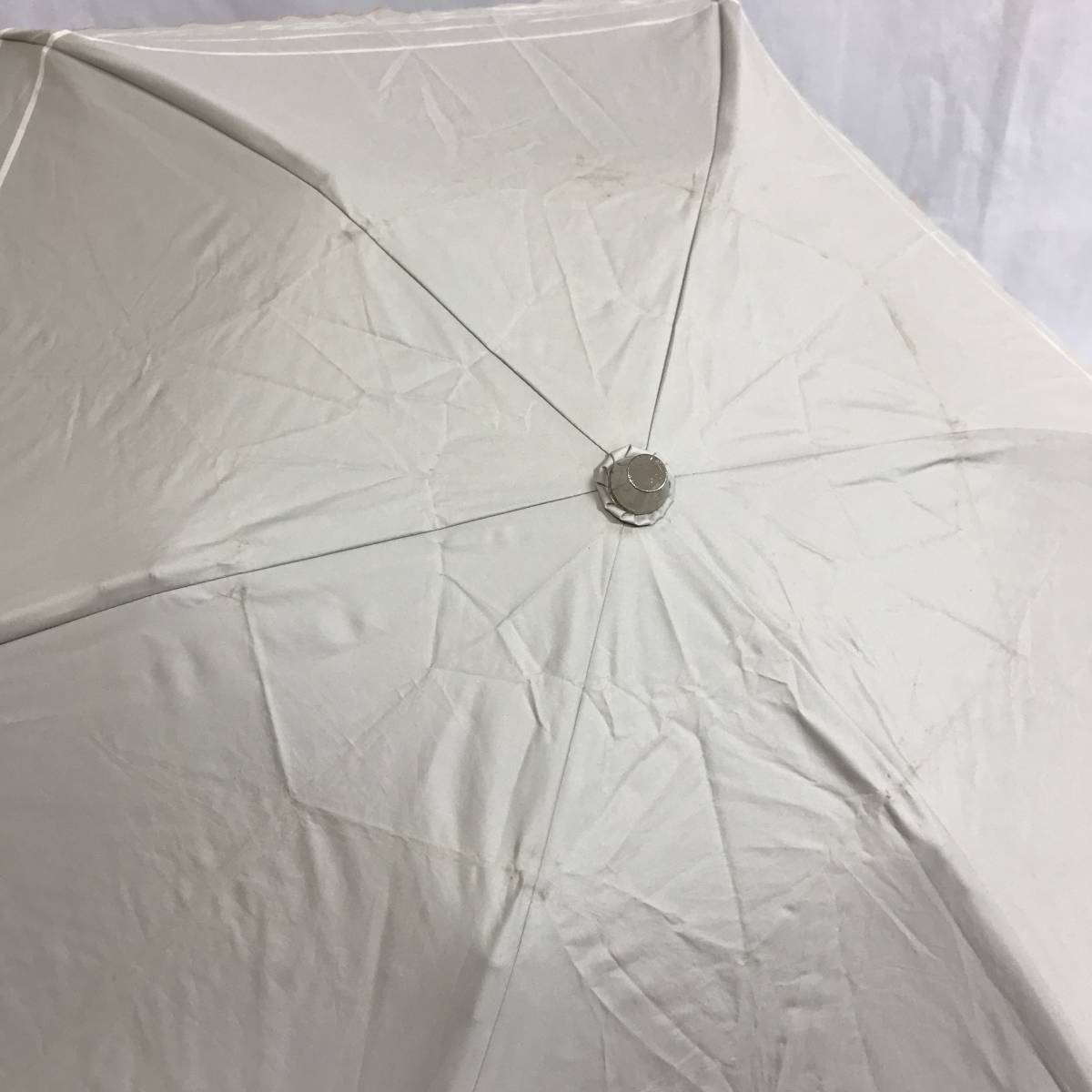 う090535 中古 Pinky&Dianne ピンキー&ダイアン AURORA オーロラ 晴雨兼用 雨傘 日傘 折りたたみ傘 女性用_画像6