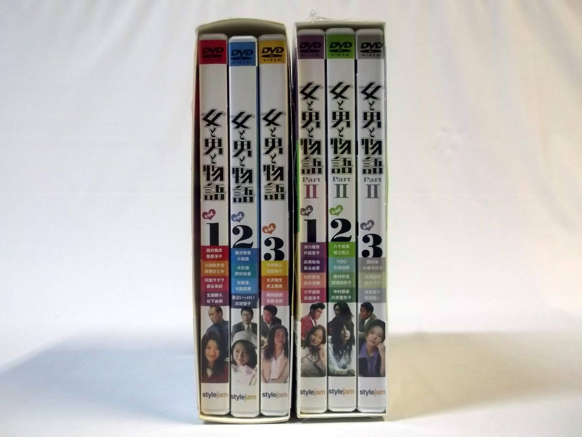 『女と男と物語 DVD-BOX』+『女と男と物語 Part 2 DVD-BOX』 [西村雅彦/篠原涼子/阿部サダヲ/藤谷美紀/小泉今日子/國村隼]_画像2