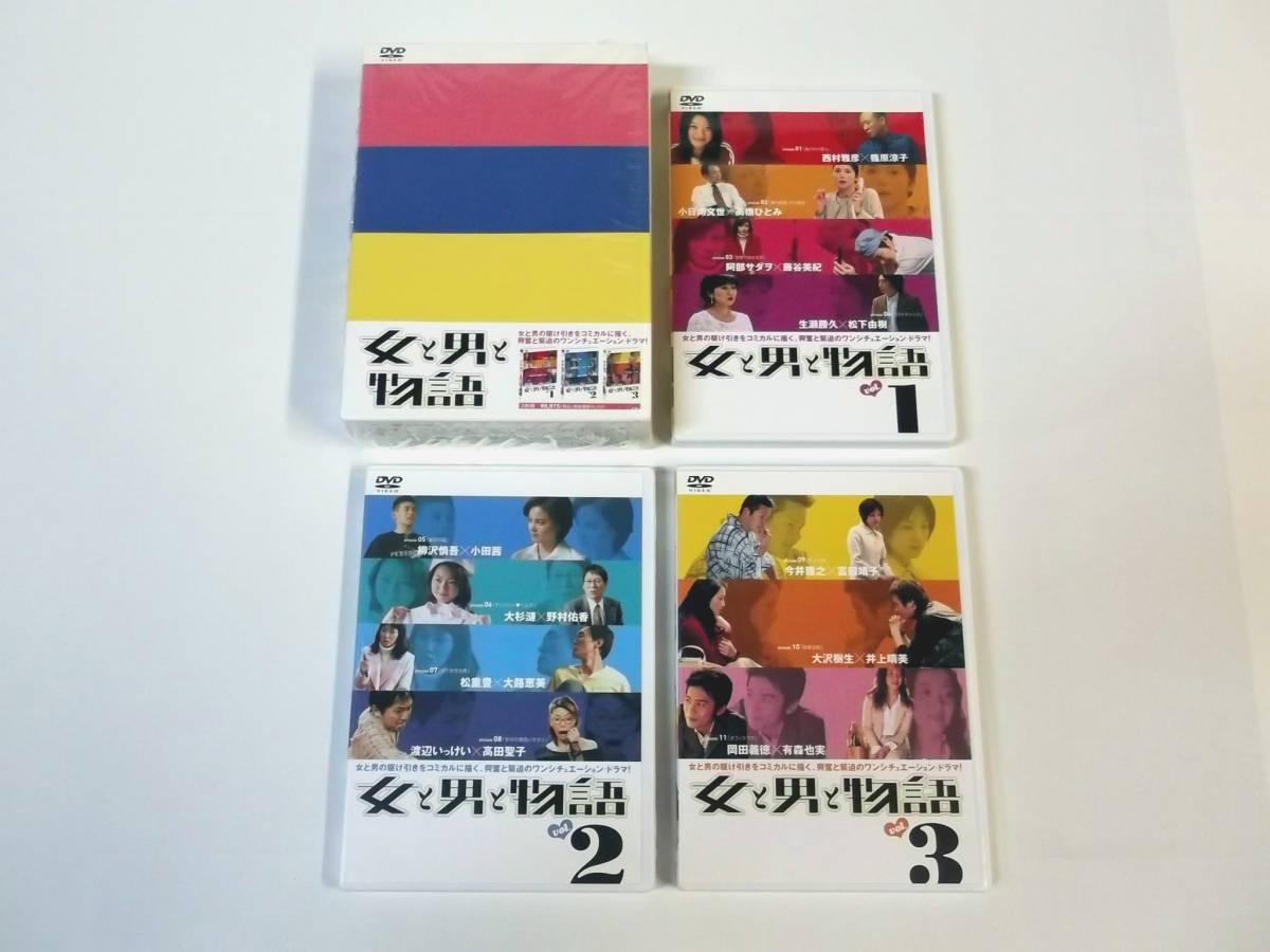 『女と男と物語 DVD-BOX』+『女と男と物語 Part 2 DVD-BOX』 [西村雅彦/篠原涼子/阿部サダヲ/藤谷美紀/小泉今日子/國村隼]_画像3