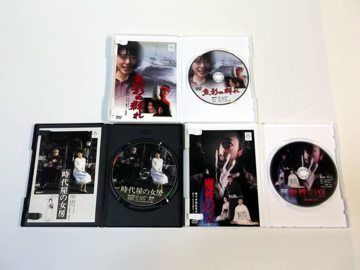 夏目雅子 出演名作集 DVD-BOX [魚影の群れ/時代屋の女房/魔性の夏 四谷怪談・より]_画像5