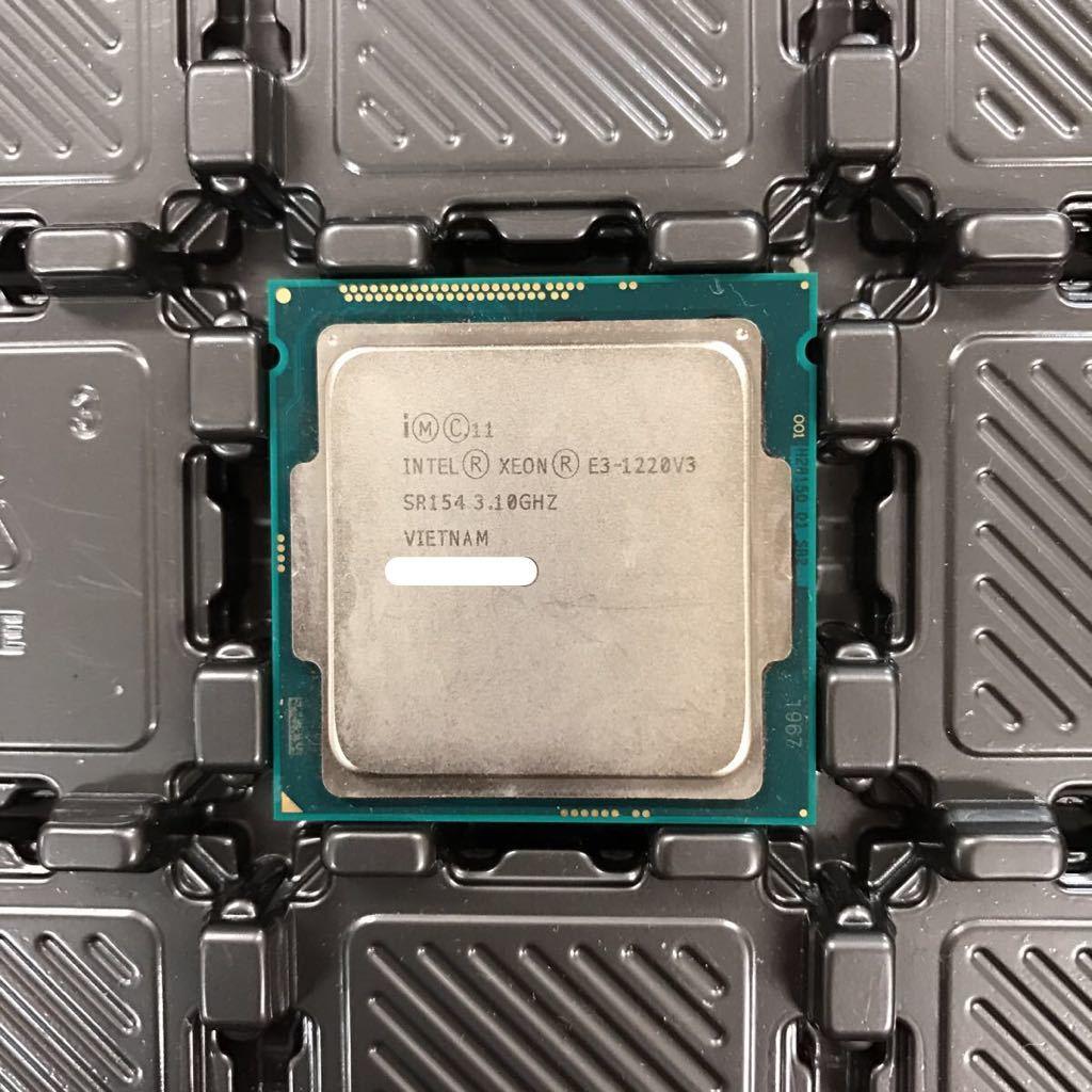 INTEL CPU XEON E3-1220V3 SR154 3.10GHZ