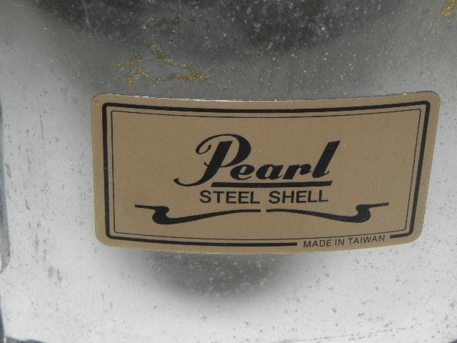 ☆PEARL steel shell  ☆スネアドラム☆中古・現状品・ジャンク_画像3