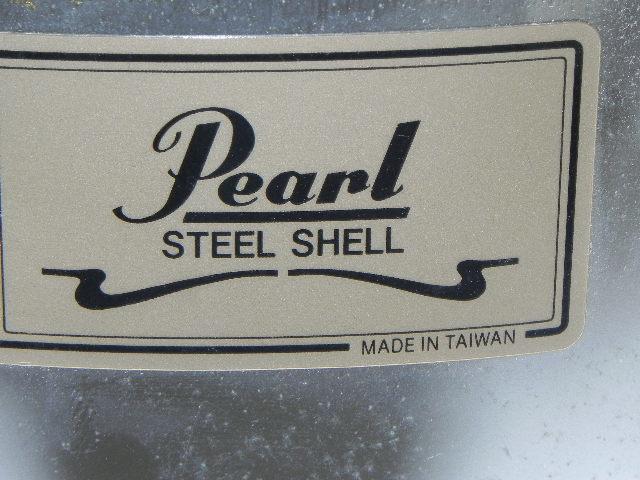 ☆PEARL steel shell  ☆スネアドラム☆中古・現状品・ジャンク_画像4