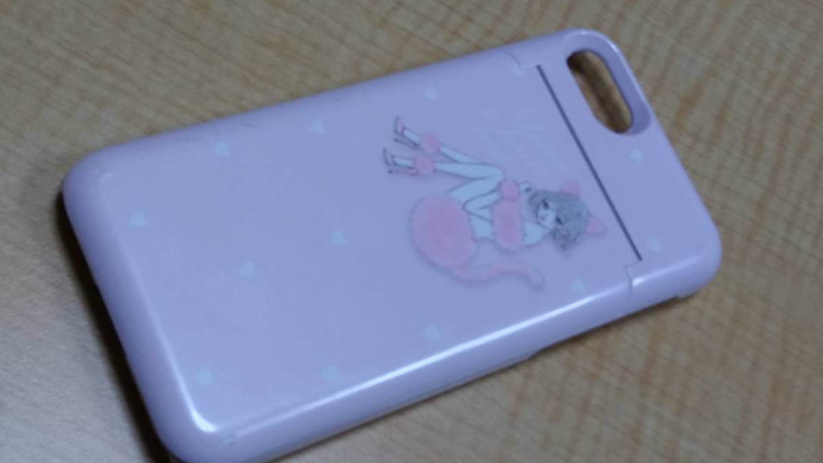 ☆Ciara(シアラ)iPhone7用バックミラー付きケース PINK CAT ピンクカラー☆_画像1