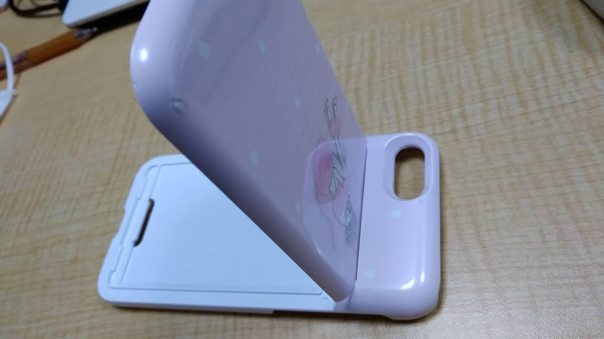 ☆Ciara(シアラ)iPhone7用バックミラー付きケース PINK CAT ピンクカラー☆_画像8