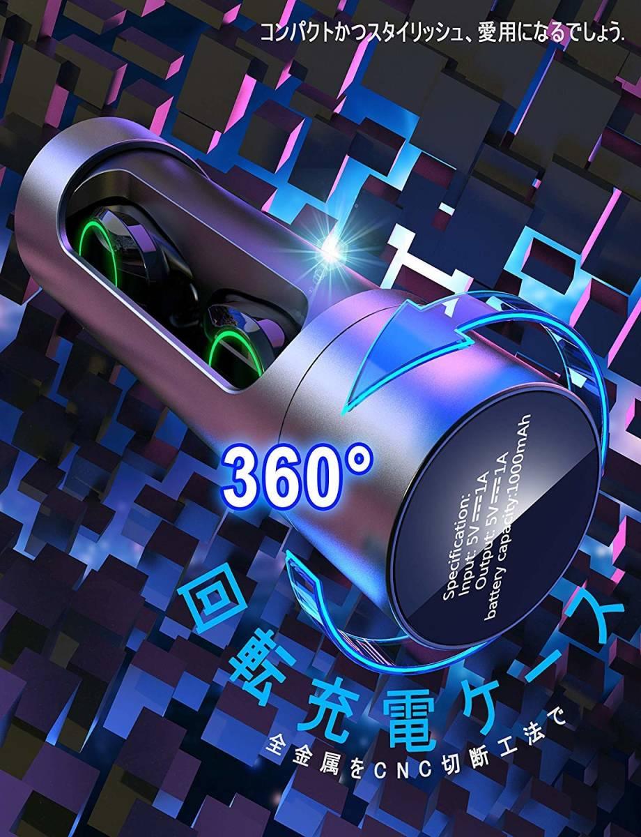 Bluetooth イヤホン 完全 ワイヤレス イヤホン Bluetooth5.0 / EDR搭載 / IPX7防水規格 _画像4