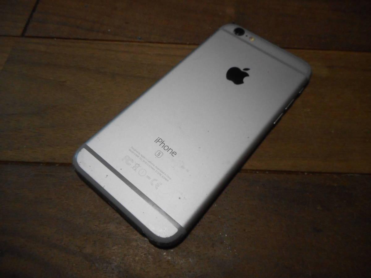 ②【国内版SIMフリー送料無料】完動品iPhone6s本体64GBグレイau白ロム判定〇【ジャンク品扱い1円スタート】_画像4