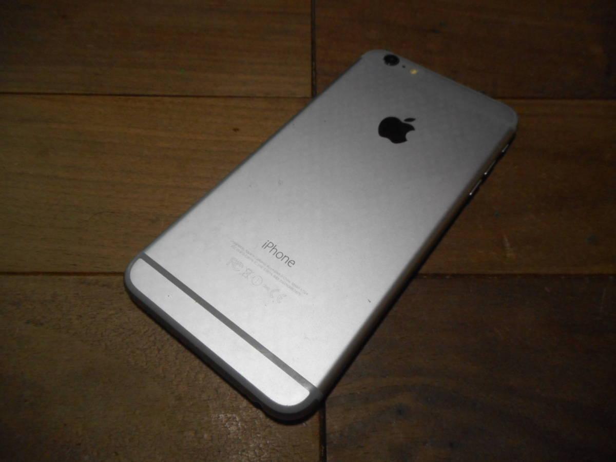 ①【送料無料】完動品液晶無傷iPhone6Plus本体64GBグレイDOCOMO白ロム判定〇【動作確認済み1円スタート】_画像4