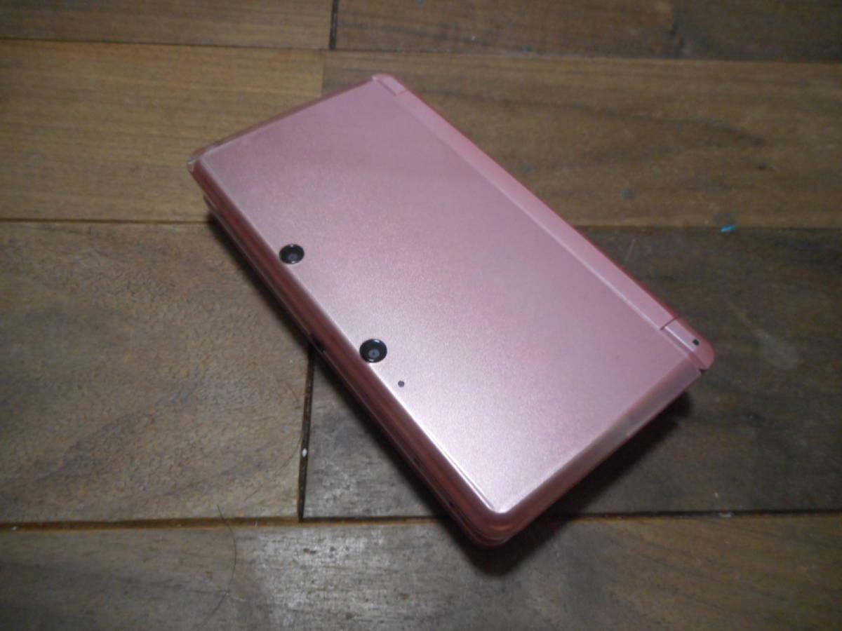 ⑧【送料無料】完動品3DS本体ミスティピンクVer11.6.0-39J【動作確認済み1円スタート】_画像2