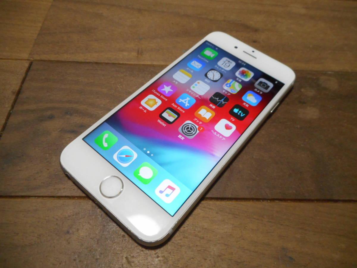 ①【送料無料】完動品液晶綺麗iPhone6s本体16GBシルバーSoftbank白ロム判定〇【動作確認済み1円スタート】