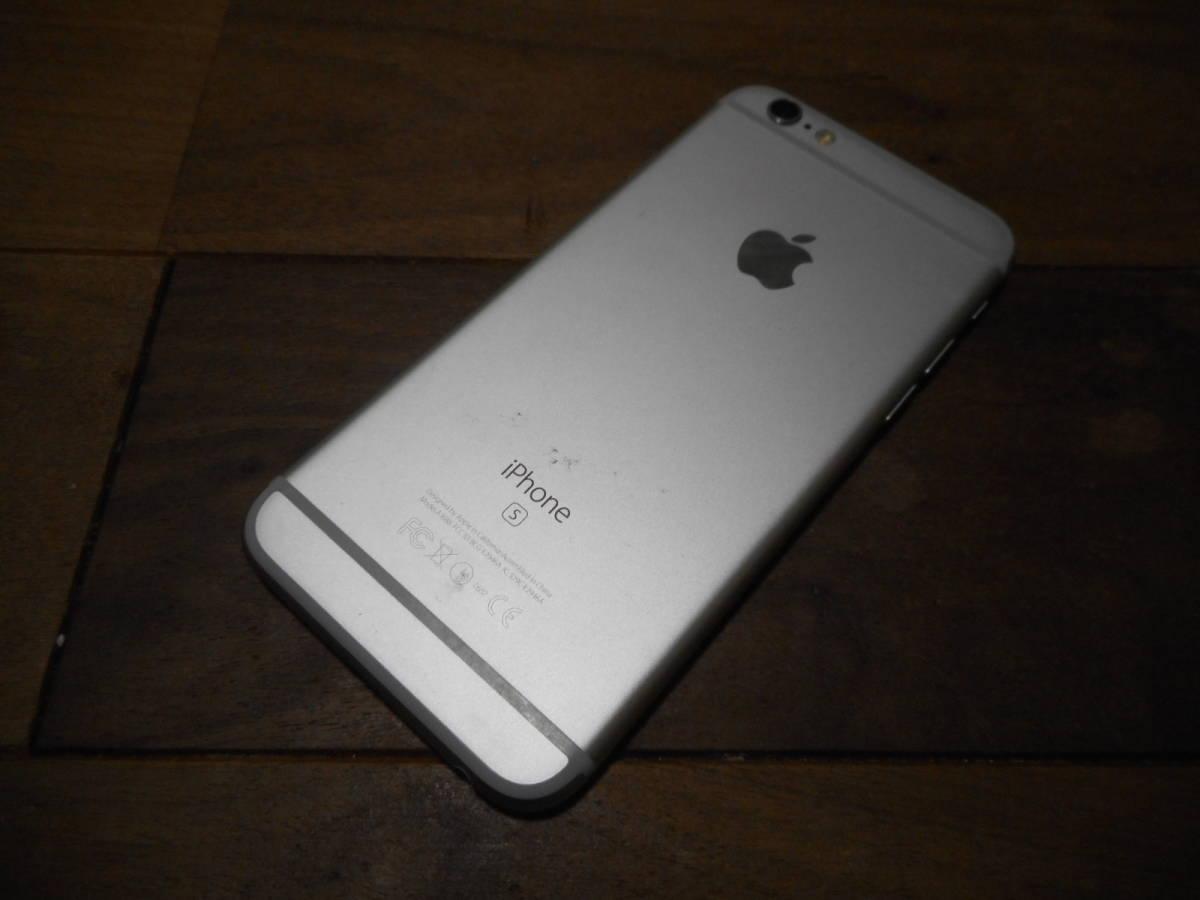 ①【送料無料】完動品液晶綺麗iPhone6s本体16GBシルバーSoftbank白ロム判定〇【動作確認済み1円スタート】_画像4