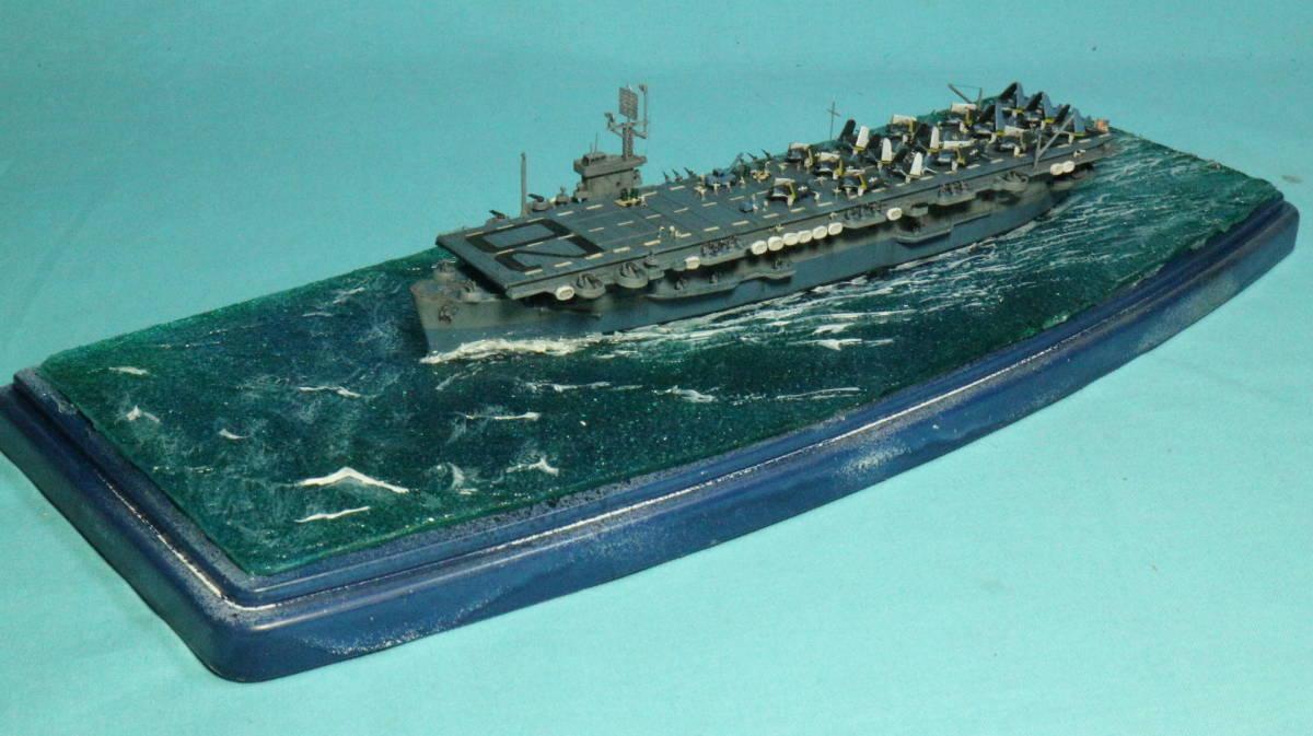 アメリカ ボーグ級護衛空母バーンズ(タミヤ 1/700)完成品_画像3