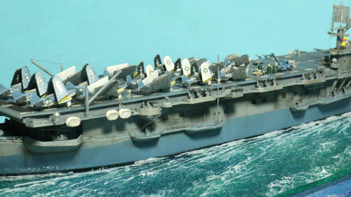 アメリカ ボーグ級護衛空母バーンズ(タミヤ 1/700)完成品_画像6