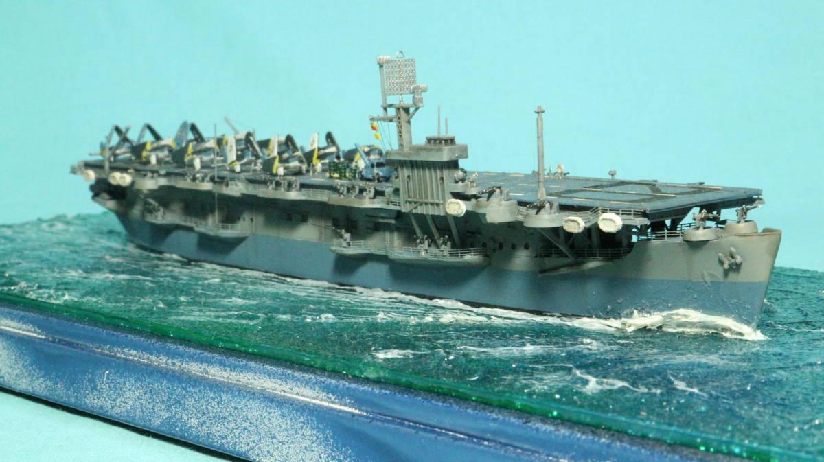アメリカ ボーグ級護衛空母バーンズ(タミヤ 1/700)完成品_画像5