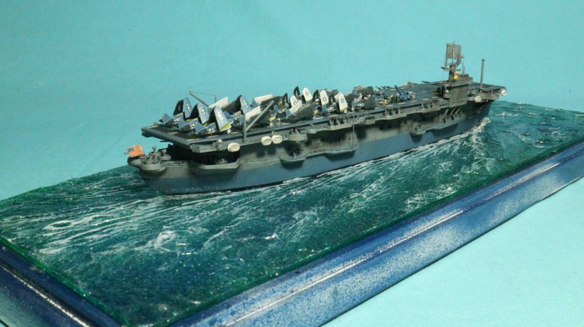 アメリカ ボーグ級護衛空母バーンズ(タミヤ 1/700)完成品_画像9