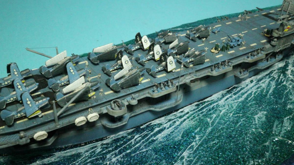 アメリカ ボーグ級護衛空母バーンズ(タミヤ 1/700)完成品_画像7