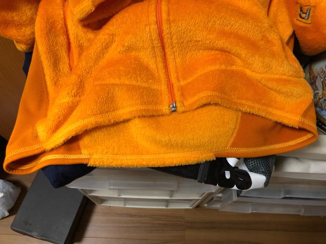 【送料無料】【極美品】【1円~売り切り】パタゴニア patagonia R2 フリースジャケット Sサイズ マンゴー★レトロx R1 R3_画像4