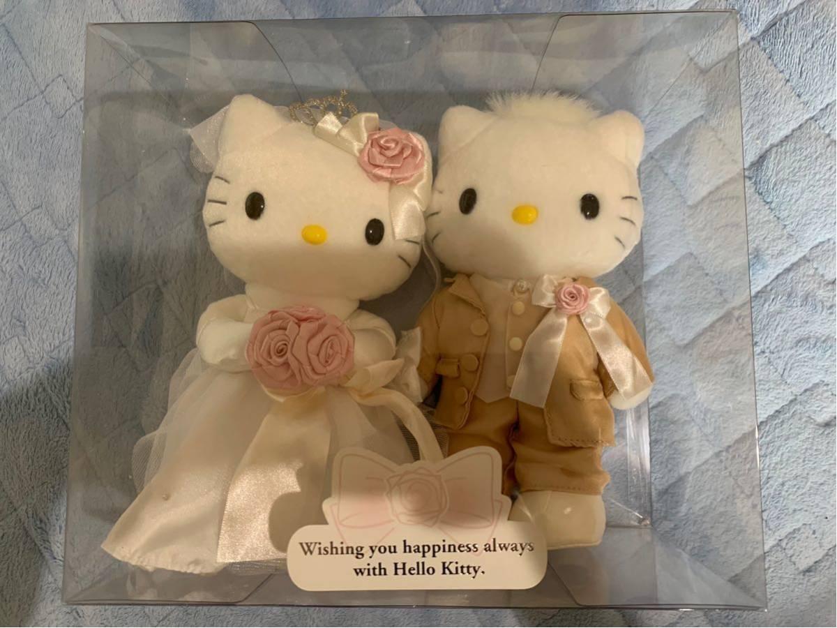 サンリオ ハローキティ キティちゃん ウェディング 結婚式 キティ&ダニエル vivitix ウエディング ぬいぐるみ ドール_画像1