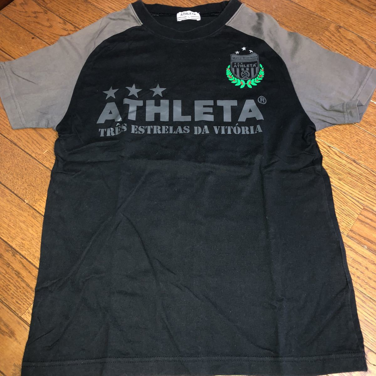 ATHLETA 半袖 Tシャツ S サッカー フットサル アスレタ_画像1