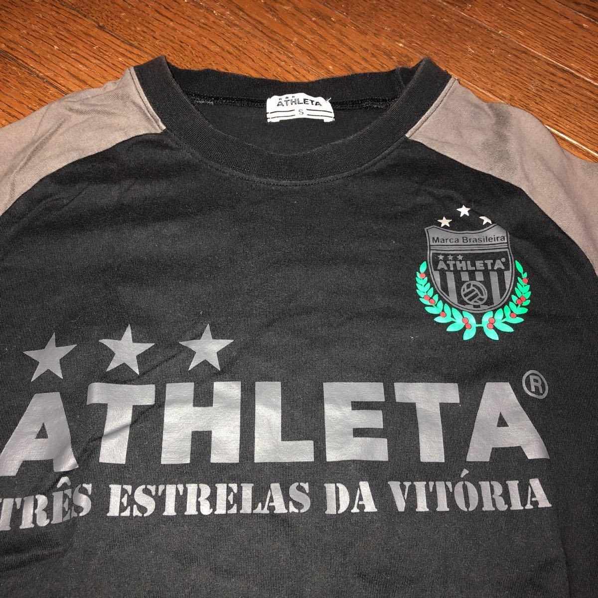 ATHLETA 半袖 Tシャツ S サッカー フットサル アスレタ_画像2