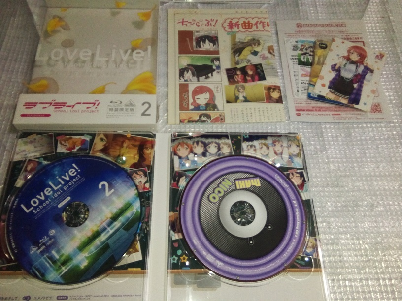 (Blu-ray)ラブライブ! 2nd Season 特装限定版 全7巻セット(とらのあな全巻購入特典 収納BOX付き)_画像3