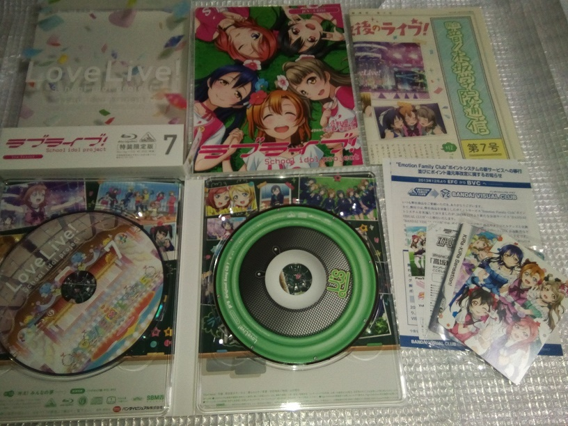 (Blu-ray)ラブライブ! 2nd Season 特装限定版 全7巻セット(とらのあな全巻購入特典 収納BOX付き)_画像8