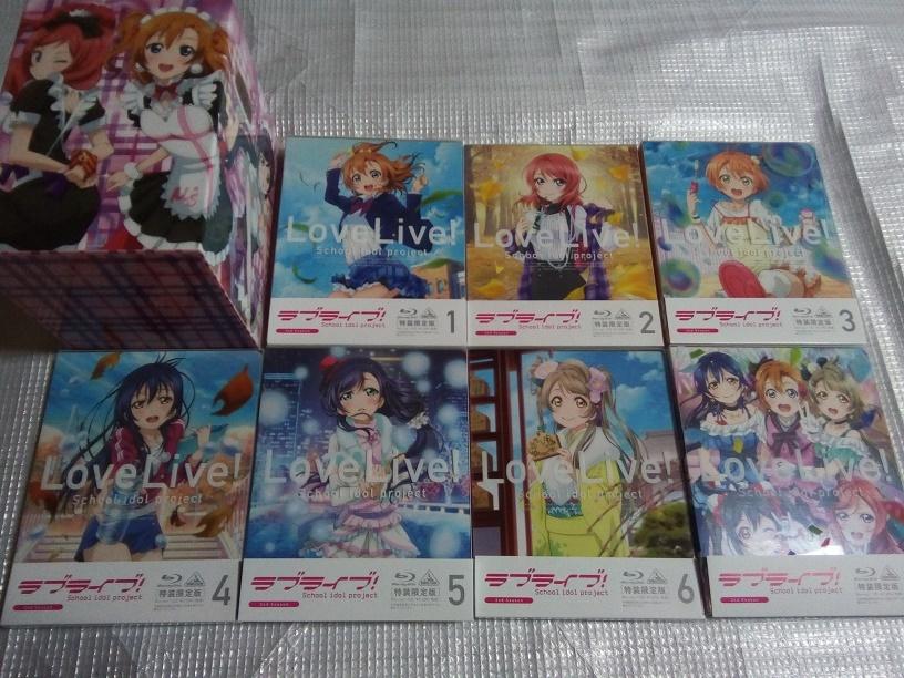 (Blu-ray)ラブライブ! 2nd Season 特装限定版 全7巻セット(とらのあな全巻購入特典 収納BOX付き)
