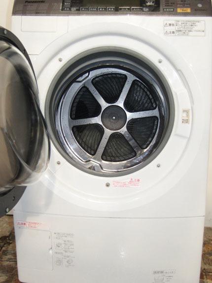 Y-32653★送料無料★パナソニック、ドラム内に風を出す浸透ジェットシャワー、洗濯乾燥機、9K NA-VX7200_画像2